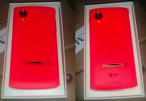 Nexus 5 màu đỏ bất ngờ ra mắt mùng 5 Tết