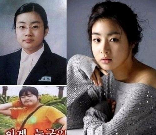 Kang So Ra từng nặng tới 72 kg, một trong những sở thích lớn của cô là... ăn. Cho đến giờ, người đẹp chỉ còn 48 kg và rất cân đối.