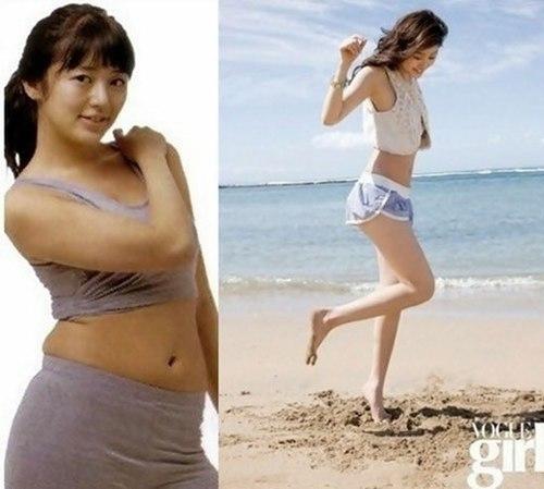 Thời còn là thành viên Baby V.O.X, Yoon Eun Hye trông khá béo ở tuổi 16.