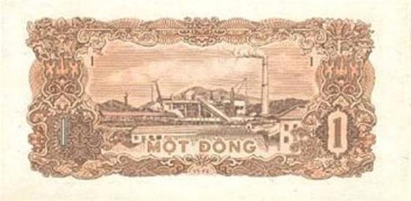 1 đồng in hình nhà máy Gang thép Thái Nguyên.
