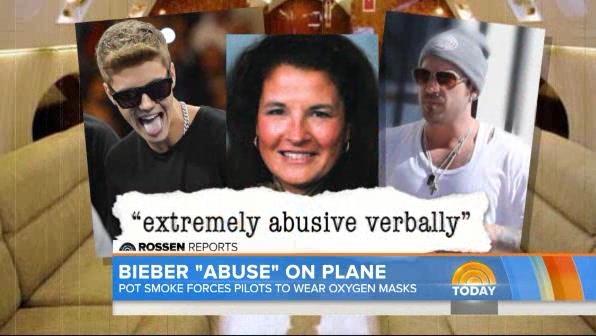 Nữ tiếp viên bị bố con Bieber lăng mạ
