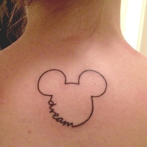 Tuyệt vời những hình xăm lấy cảm hứng từ phim hoạt hình Disney
