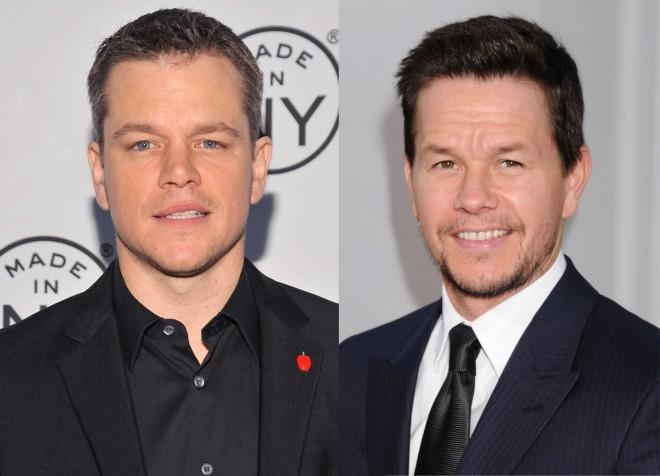 """Matt Damon thường xuyên đỏ mặt khi bị nhầm với người đồng nghiệp Mark Wahlberg. Anh cho biết: """"Mark và tôi có một thỏa thuận rằng nếu cả hai bị nhầm lẫn với nhau, chúng tôi phải cư xử lịch sự nhất có thể"""". - Tin sao Viet - Tin tuc sao Viet - Scandal sao Viet - Tin tuc cua Sao - Tin cua Sao"""