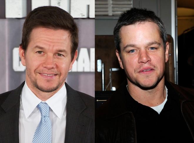 """Trên Instagram, một fan hâm mộ nghĩ rằng cô đã chụp ảnh cùng với Matt Damon nhưng thực ra đó chính là Mark Wahlberg. Bức ảnh được đăng với sự ngại ngùng của """"khổ chủ"""". - Tin sao Viet - Tin tuc sao Viet - Scandal sao Viet - Tin tuc cua Sao - Tin cua Sao"""