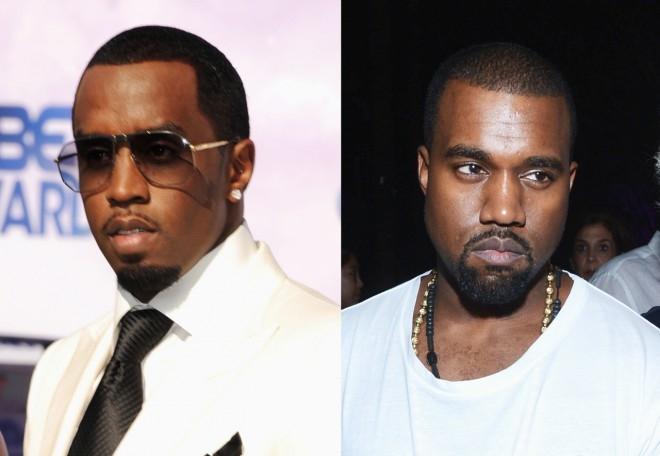 Với kiểu tóc, màu da và cách để râu gần như là hoàn toàn giống nhau thế này, khó ai có thể phân biệt đâu là Diddy và Kanye. - Tin sao Viet - Tin tuc sao Viet - Scandal sao Viet - Tin tuc cua Sao - Tin cua Sao