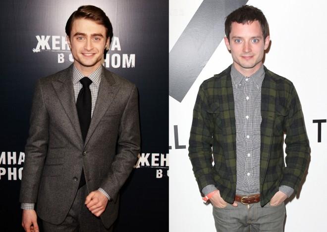 Ánh mắt và khuôn mặt của chàng phù thủy Harry Potter - nam diễn viên Daniel Radcliffe rất giống với ngôi sao Chúa tể của những chiếc nhẫn Elijah Wood - Tin sao Viet - Tin tuc sao Viet - Scandal sao Viet - Tin tuc cua Sao - Tin cua Sao