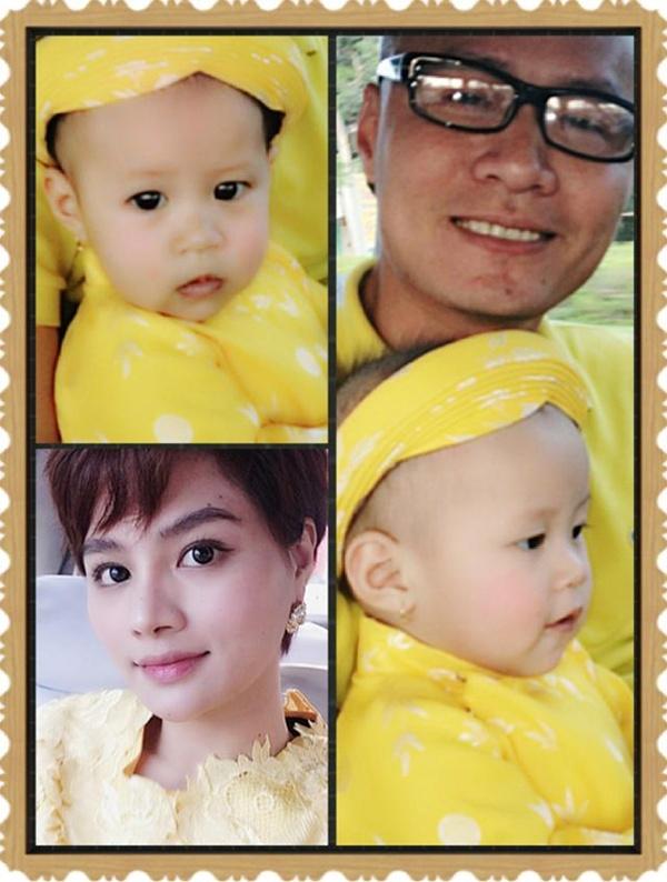 Vũ Thu Phương cùng chồng và công chúa nhỏ rực rỡ sắc vàng - Tin sao Viet - Tin tuc sao Viet - Scandal sao Viet - Tin tuc cua Sao - Tin cua Sao