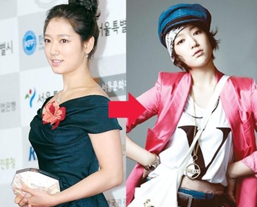 Park Shin Hye rât dễ tăng cân