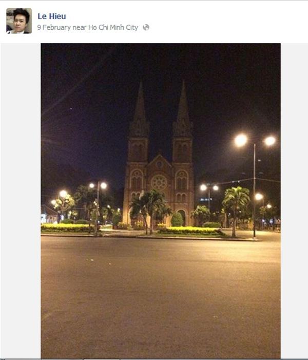 Ngày 9/2 Lê Hiếu chia sẻ hình ảnh đường phố Sài Gòn về khuya trống vắng, tĩnh lặng... - Tin sao Viet - Tin tuc sao Viet - Scandal sao Viet - Tin tuc cua Sao - Tin cua Sao