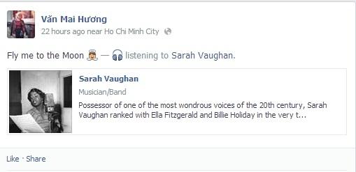 Trước đó Văn Mai Hương vẫn dùng âm nhạc để giải trí. - Tin sao Viet - Tin tuc sao Viet - Scandal sao Viet - Tin tuc cua Sao - Tin cua Sao