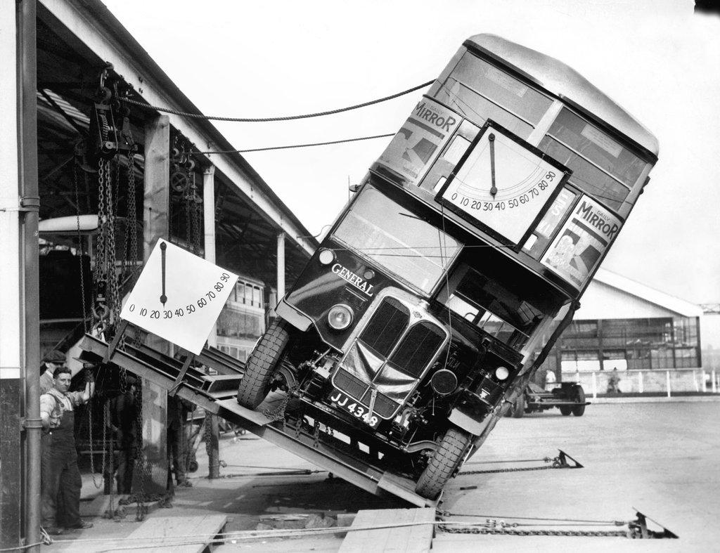 Cách người ta kiểm tra một chiếc xe buýt 2 tầng