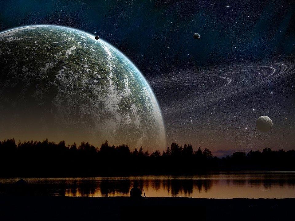 Khi khoảng cách giữa sao Thổ và Mặt trăng trở nên quá gần với nhau