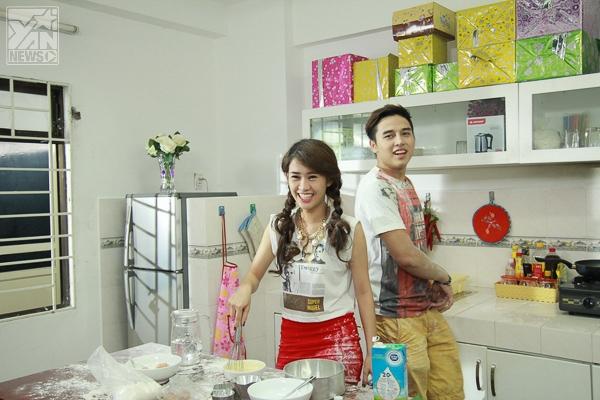 Cặp đôi Andrei và San San trong Tiệm bánh hoàng tử bé 2