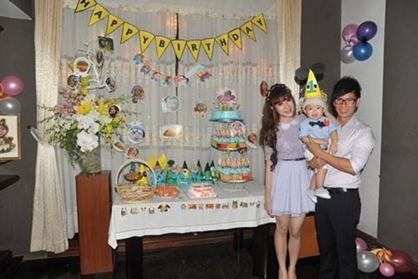 Tiệc sinh nhật một tuổi con trai Lý Hải.