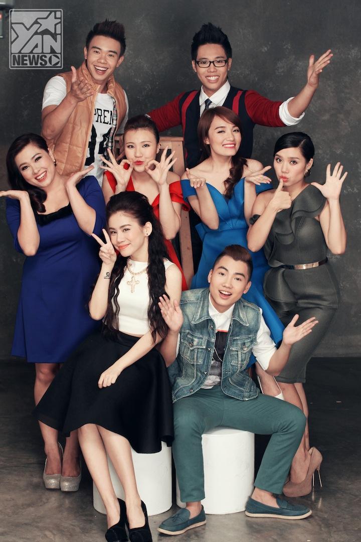 Top 8 thí sinh Vietnam Idol 2013