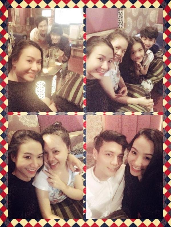 Quỳnh Trâm mừng sinh nhật cùng những người bạn thân.