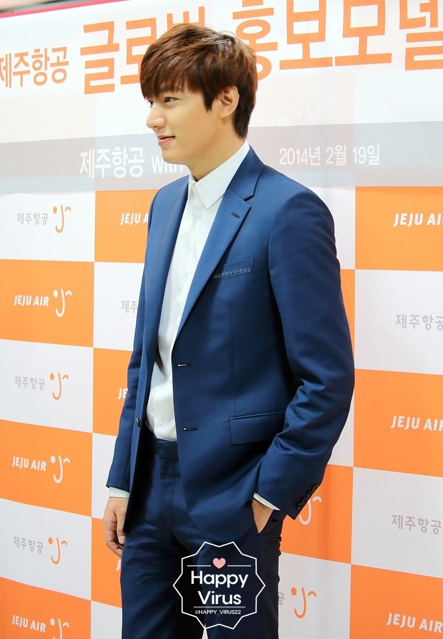 Lee Min Ho trở thành người mẫu đại diện chính thức cho Jeju Air năm 2014