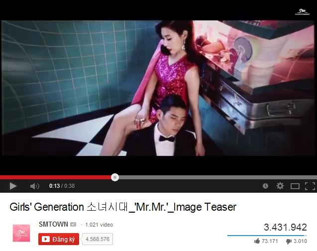 Chỉ hơn 1 tuần, teaser Mr Mr đạt trên 3 triệu lượt view