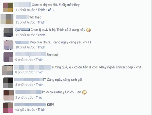 . Những lời khen mà fan dành tặng cho Tóc Tiên