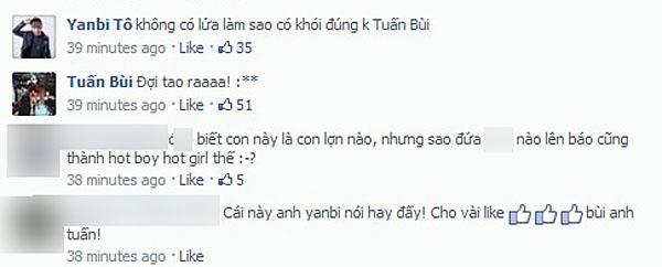 Với những lời giải thích của Lily Luta, Yanbi cho rằng: 'Không có lửa thì làm sao có khói'