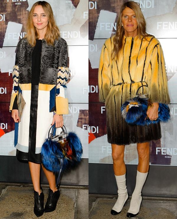 Trang phục và phụ kiện lông thú gây bão tại Milan