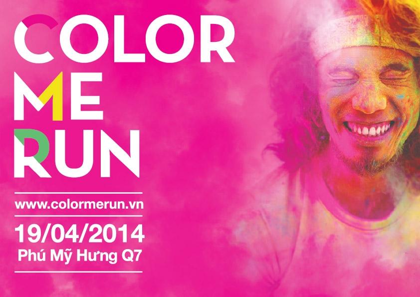 Ấn tượng sự kiện thể thao kết hợp âm nhạc Color Me Run - Đường Chạy Sắc Màu