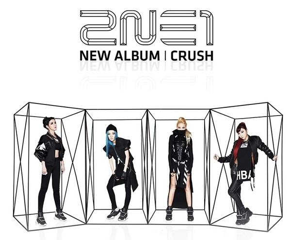 Album thứ 2 Crush - 2NE1