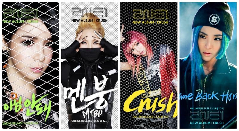 2NE1 thử sức với vai trò sản xuất trong album mới