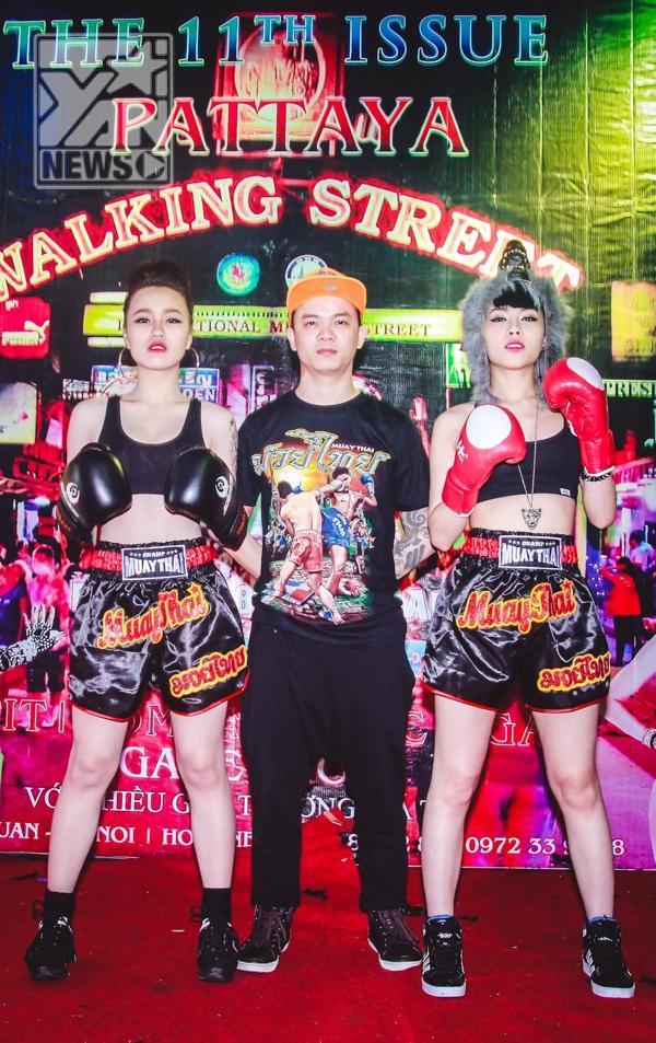 DJ Tommy cùng 2 mỹ nhân - DJ Tít và DJ Ngọc Ngà
