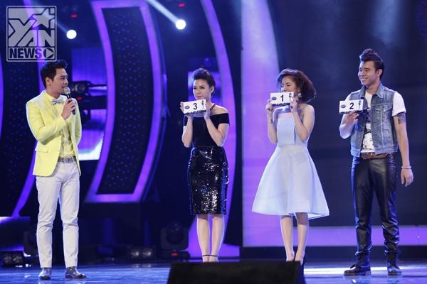 3 thí sinh trong nhóm nguy hiểm và thứ tự hát sing-off.