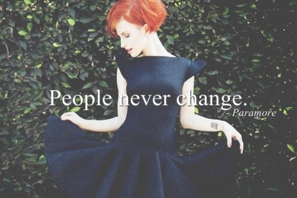 Những điều tình yêu không thể thay đổi
