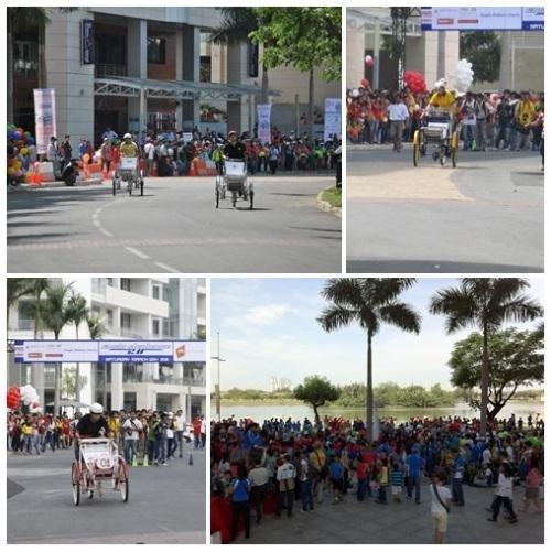 Cuộc đua xích lô độc nhất trên thế giới