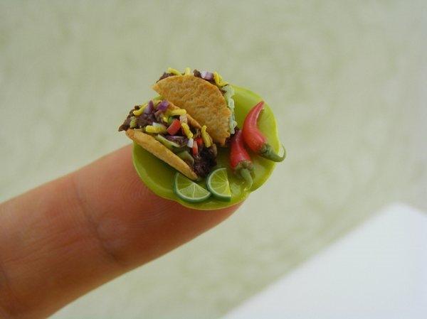 Ngỡ ngàng các món ngon siêu nhỏ hút hồn thực khách