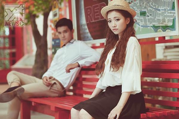 Phan Thiên Ngân và nam người mẫu 9X Nhiko Đinh diễn xuất rất ăn ý trong MV Thời hạn của tình yêu - Tin sao Viet - Tin tuc sao Viet - Scandal sao Viet - Tin tuc cua Sao - Tin cua Sao