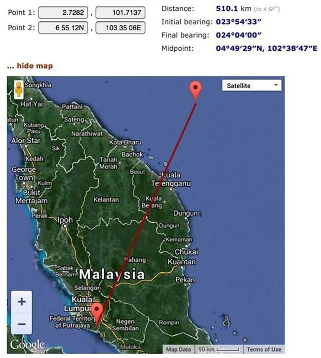 Chuyên gia Việt Nam cho rằng chiếc máy bay mới khởi hành 1 giờ trước khi gặp sự cố.