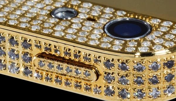 iPhone 5 mạ vàng, đính kim cương giá 1 triệu USD