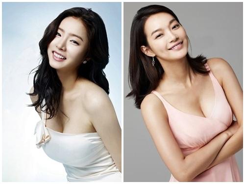 Shin Si Kyung và Shin Min Ah