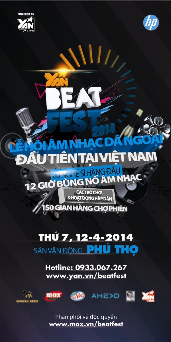 80 nghệ sỹ quy tụ trong 1 ngày YAN Beatfest