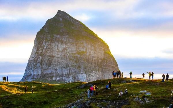 Một địa điểm tụ họp quen thuộc của các bạn trẻ Na Uy