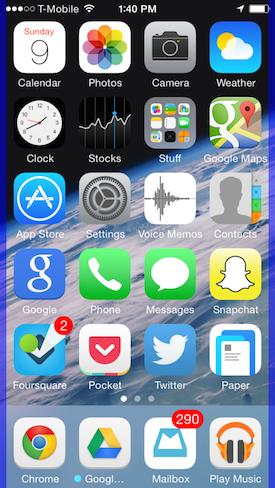 Kích hoạt tính năng điều khiển bằng đầu trên iOS 7.1
