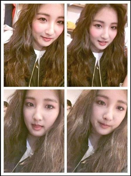 """Jihyun (4minute) đăng tải một hình ảnh ám chỉ cho sự trở lại của 4minute trong thời gian tới đây: """"Thời gian tốt sắp tới. Tình yêu và trái tim dành cho 4minute"""""""