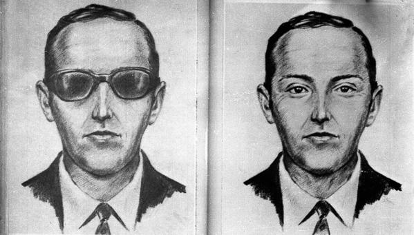 Đến nay, D.B.Cooper là một nhân vật chỉ có hình vẽ ở Mỹ - Ảnh: doyouremember.com