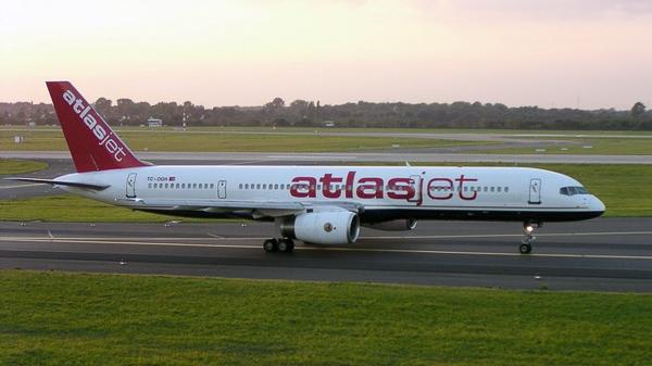 Máy bay của Hãng Atlasjet - Ảnh: wikipedia.org