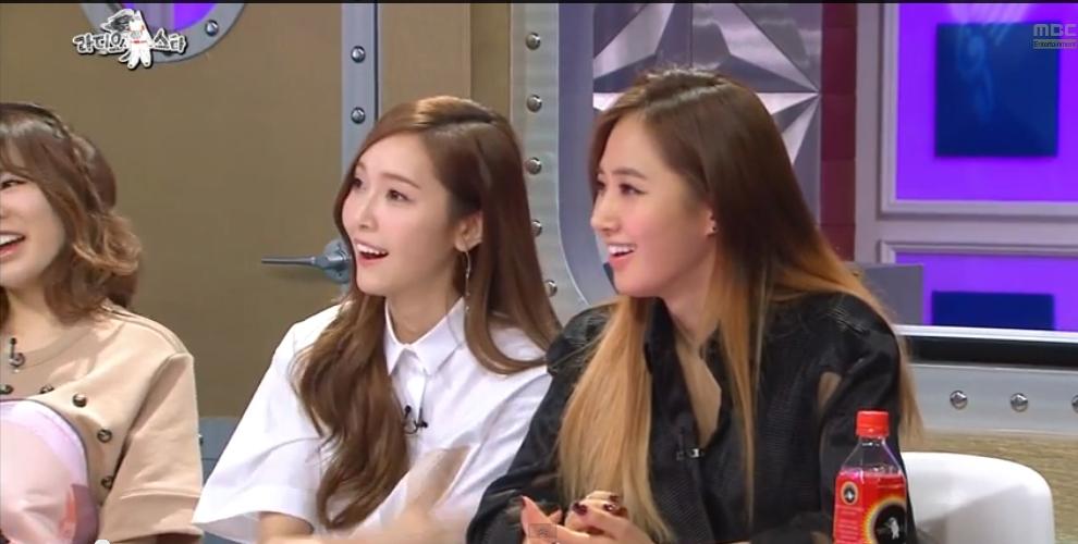 Yuri và Jessica chia sẻ về đụng chạm cơ thể
