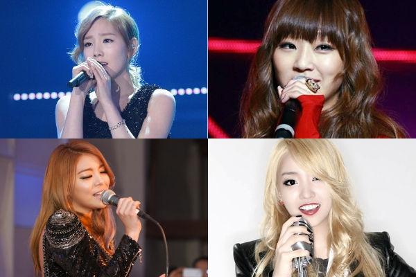 """IU""""điểm mặt"""" những nghệ sỹ hát hay nhất Kpop"""