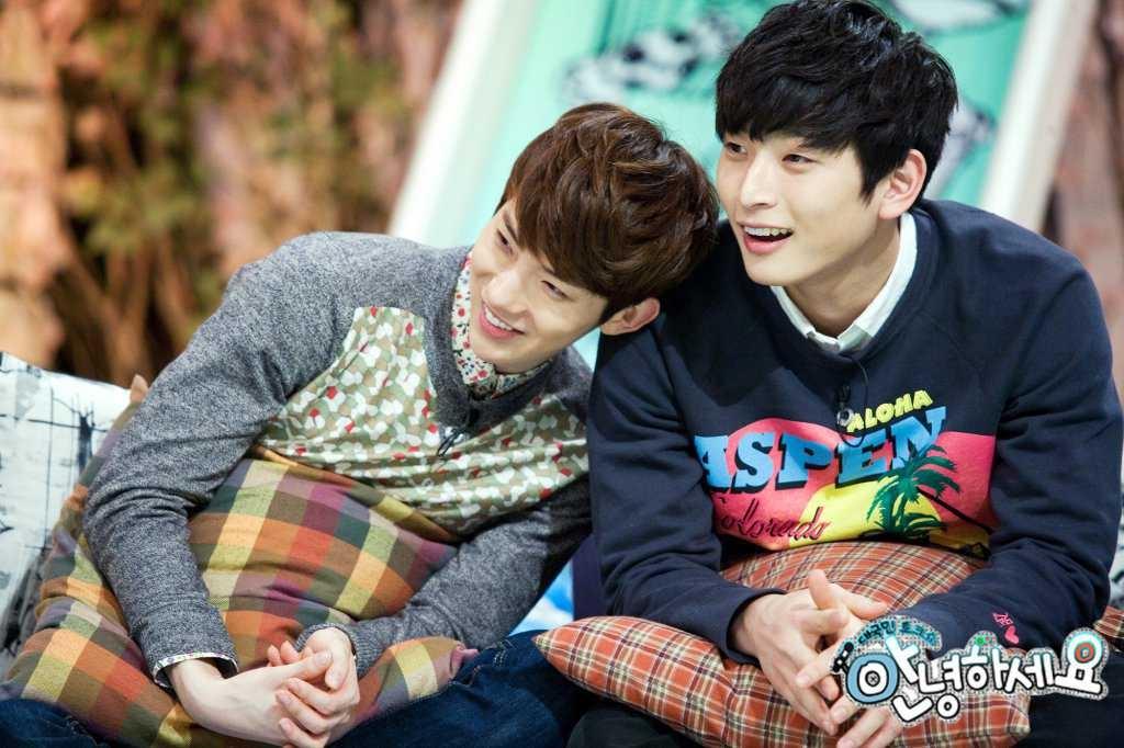 Với tài năng tuyệt vời của 2 chàng trai của 2AM (Jokwon và Jinwoon), chắc chắn họ sẽ là đối tượng tuyệt vời trong ngày Valentine Trắng.