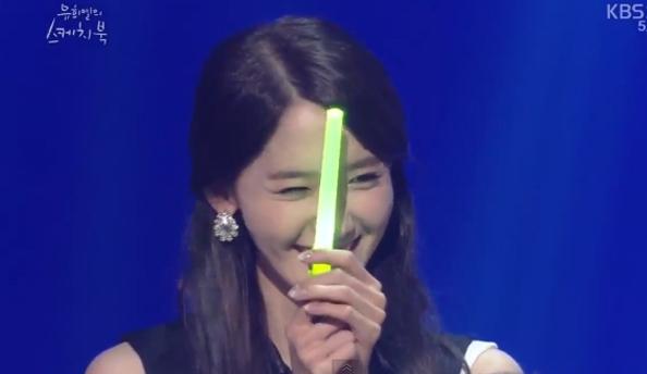Yoona ngại ngùng và bật đèn xanh khi nhắc đến Lee Seung Gi cùng với nụ cười hạnh phúc
