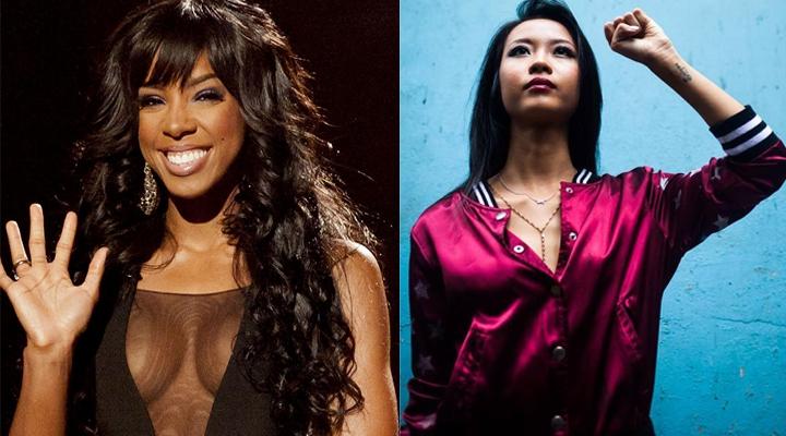 """Suboi đọ sức nóng cùng Kelly Rowland tại """"Đường Chạy Sắc Màu"""""""