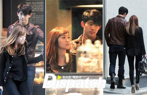 Hình ảnh cho rằng Taecyeon và Jessica đang yêu nhau vào năm 2011