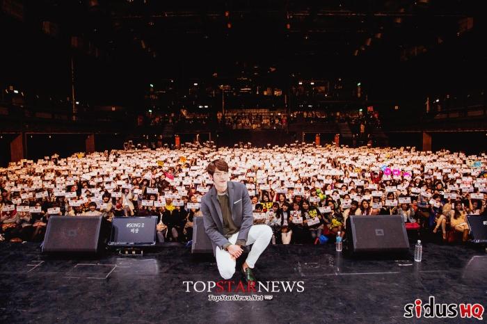 Kim Woo Bin đã có một buổi họp mặt fan ấm cúng tại Đài Loan